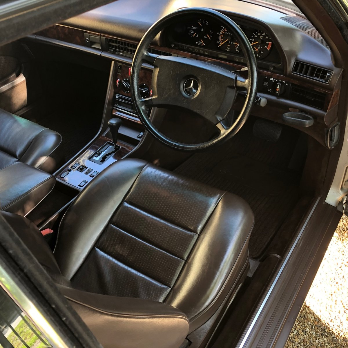 1988 Mercedes 500SEC C126 *SOLD* 46k miles. 560SEC 420  For Sale (picture 5 of 6)