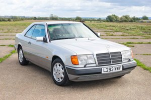 1993 Mercedes C124 320CE - Silver/Grey Leather - High Spec SOLD