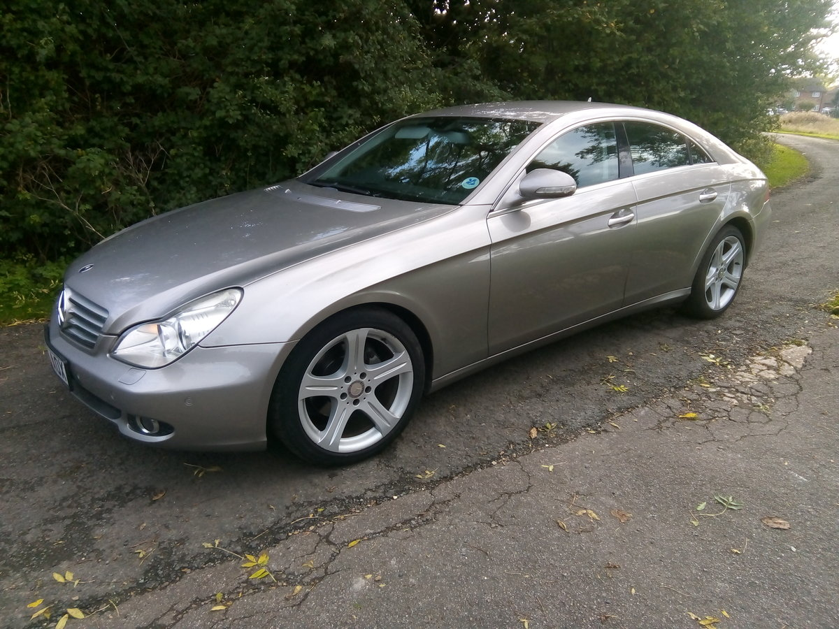 2008 Mercedes CLS 320 CDI,one previous owner FSH  For Sale (picture 1 of 6)