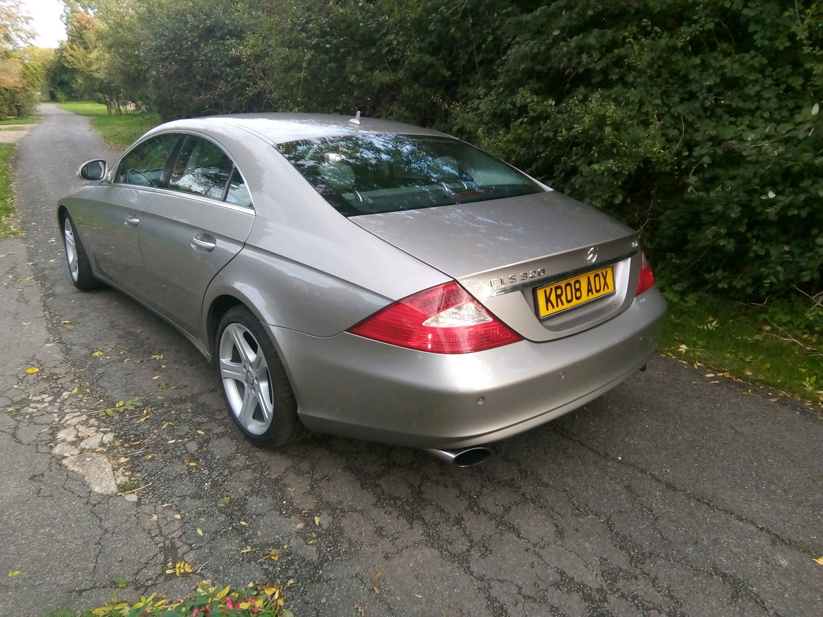 2008 Mercedes CLS 320 CDI,one previous owner FSH  For Sale (picture 2 of 6)