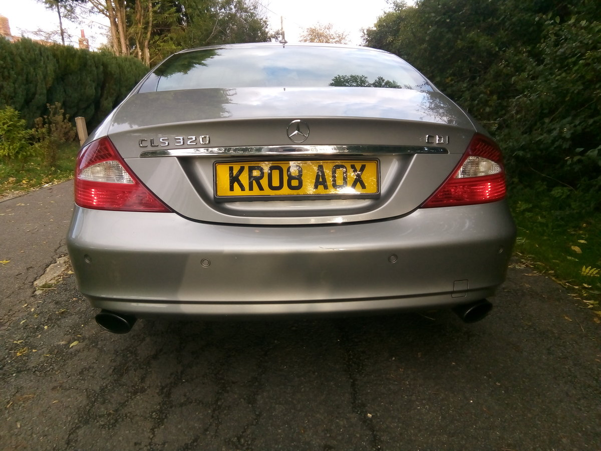2008 Mercedes CLS 320 CDI,one previous owner FSH  For Sale (picture 4 of 6)