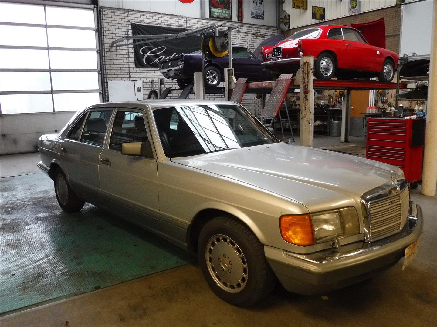 1986 Mercedes Benz 420 SEL '86 For Sale (picture 1 of 6)