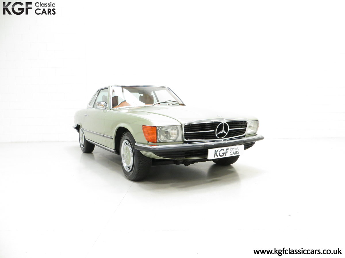 1976 An Incredible Mercedes Benz 280SL R107 with Just 12218 Miles For Sale (picture 1 of 6)