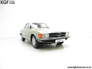 1976 An Incredible Mercedes Benz 280SL R107 with Just 12218 Miles For Sale