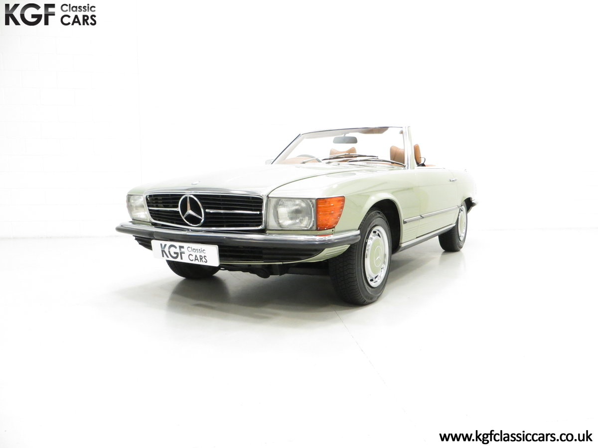 1976 An Incredible Mercedes Benz 280SL R107 with Just 12218 Miles For Sale (picture 2 of 6)