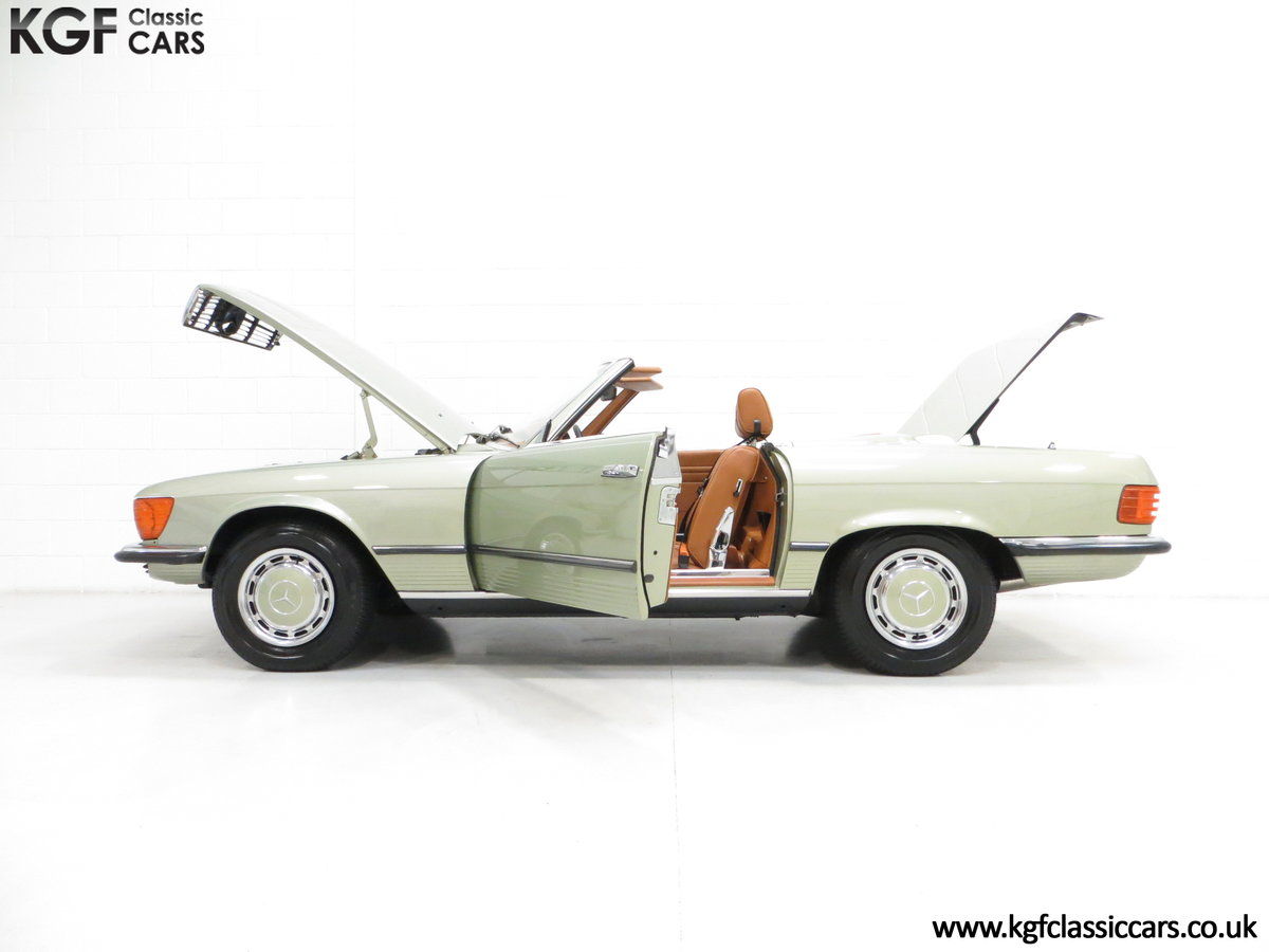 1976 An Incredible Mercedes Benz 280SL R107 with Just 12218 Miles For Sale (picture 3 of 6)