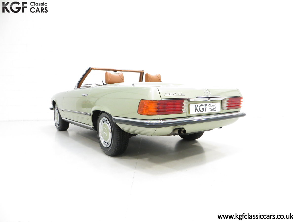 1976 An Incredible Mercedes Benz 280SL R107 with Just 12218 Miles For Sale (picture 4 of 6)
