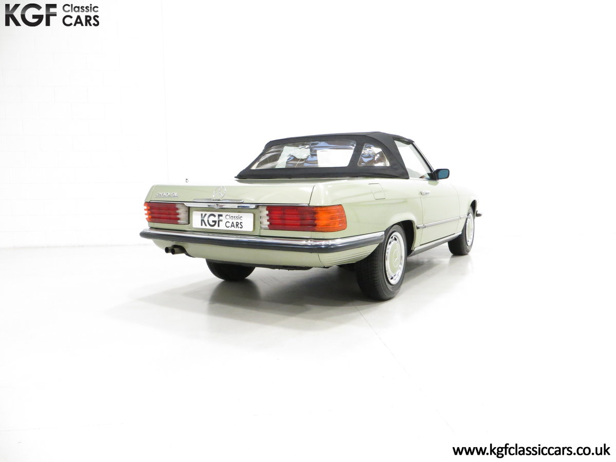 1976 An Incredible Mercedes Benz 280SL R107 with Just 12218 Miles For Sale (picture 5 of 6)