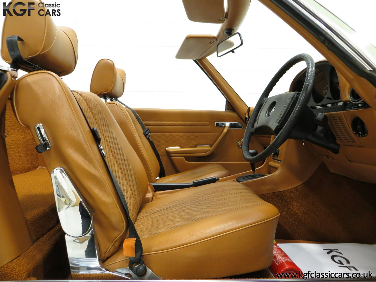 1976 An Incredible Mercedes Benz 280SL R107 with Just 12218 Miles For Sale (picture 6 of 6)