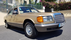 1982 MB (W126) 380SE  71000 Kms (44,400 Mls) from new For Sale