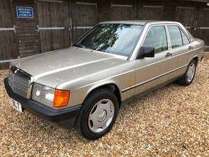 1987 Mercedes 190E 2-litre ( 201-series ) For Sale