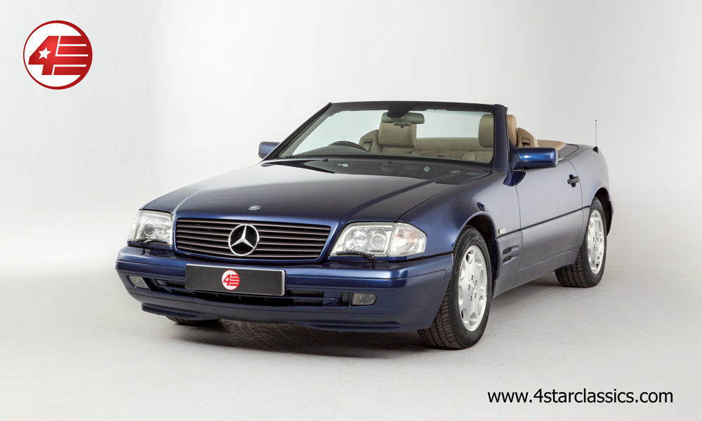 1996 Mercedes R129 SL500 /// Panoramic Hardtop /// 64k Miles For Sale (picture 1 of 6)
