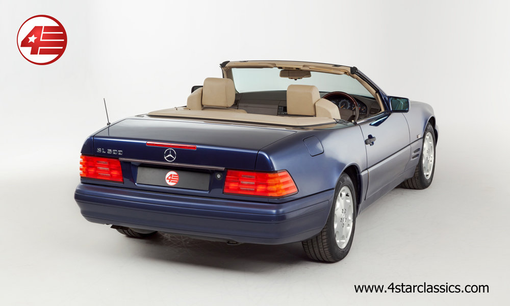 1996 Mercedes R129 SL500 /// Panoramic Hardtop /// 64k Miles For Sale (picture 3 of 6)