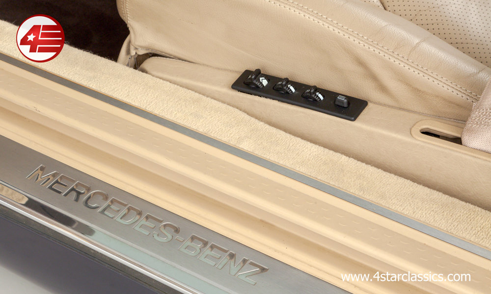 1996 Mercedes R129 SL500 /// Panoramic Hardtop /// 64k Miles For Sale (picture 5 of 6)