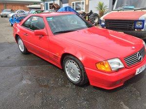 1992 Mercedes 300 SL w129 FSH For Sale