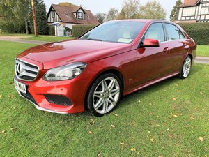 2014/64 Mercedes E220 CDi Sport AMG just 46000m 12M MOT SOLD