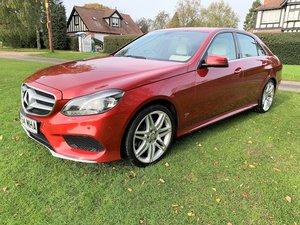 2014 /64 Mercedes E220 CDi Sport AMG just 46000m 12M MOT