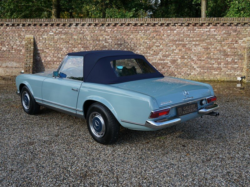 1969 Mercedes Benz 280SL Pagode restored condition For Sale (picture 2 of 6)