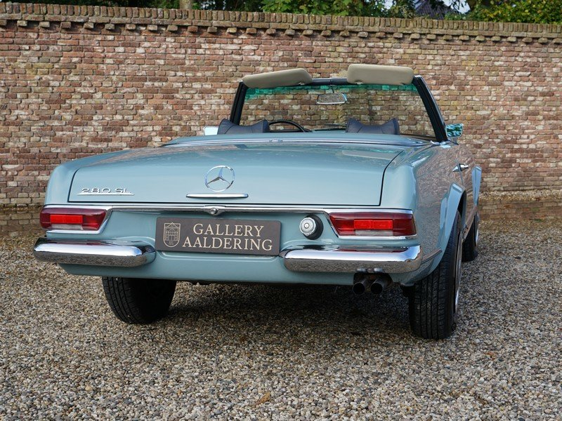1969 Mercedes Benz 280SL Pagode restored condition For Sale (picture 6 of 6)