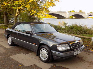 1995 MERCEDES BENZ E320 SPORTLINE CABRIOLET For Sale
