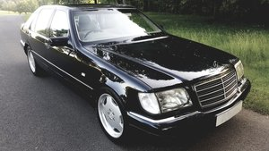 1998 Mercedes benz s500 w140 lwb/ metallic black For Sale
