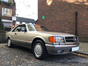 1988  Mercedes Benz 560SEC - 61.500 miles only