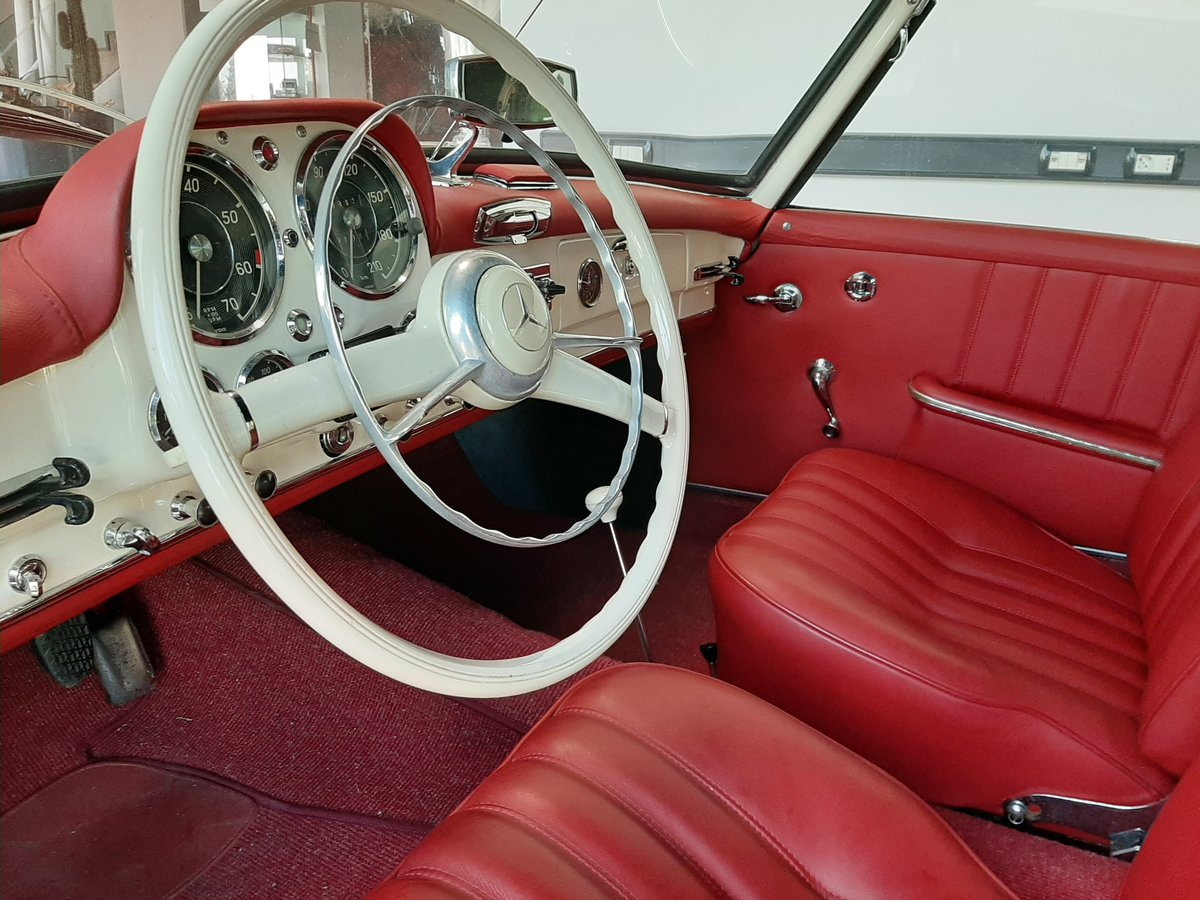 Mercedes 190SL 1961 For Sale (picture 4 of 6)