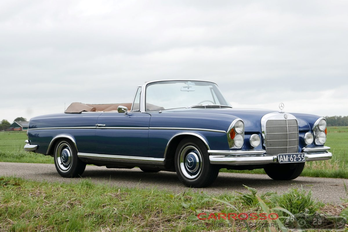 1967 Mercedes Benz 250 SE Cabriolet (W108) in very good condition For Sale (picture 1 of 6)