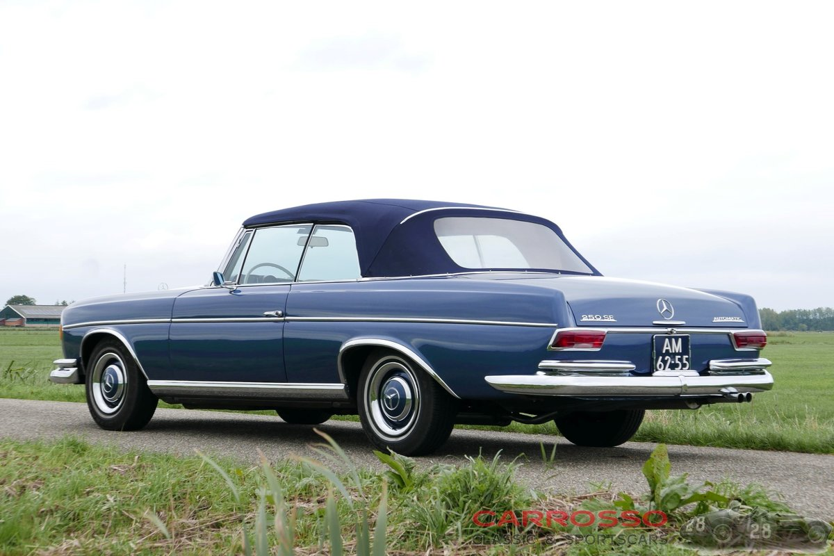 1967 Mercedes Benz 250 SE Cabriolet (W108) in very good condition For Sale (picture 2 of 6)