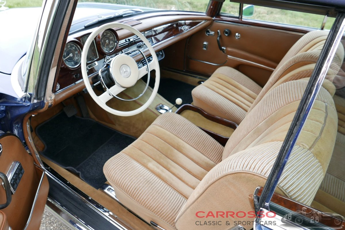 1967 Mercedes Benz 250 SE Cabriolet (W108) in very good condition For Sale (picture 3 of 6)