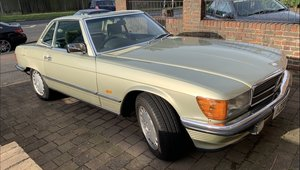 1986 Mercedes 300SL For Sale