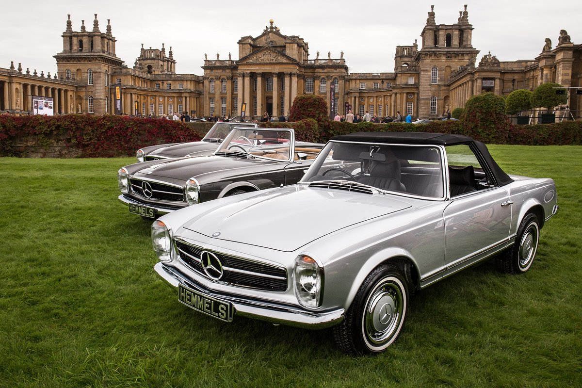 1969 Mercedes-Benz 280 SL Pagoda in Silver by Hemmels For Sale (picture 2 of 6)