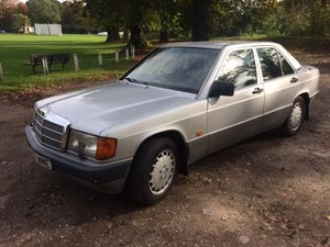 1990 MERCEDES 190E 2.6 AUTO For Sale