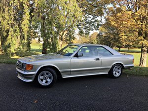 1983 MERCEDES 500 SEC, AMG Body Styling For Sale