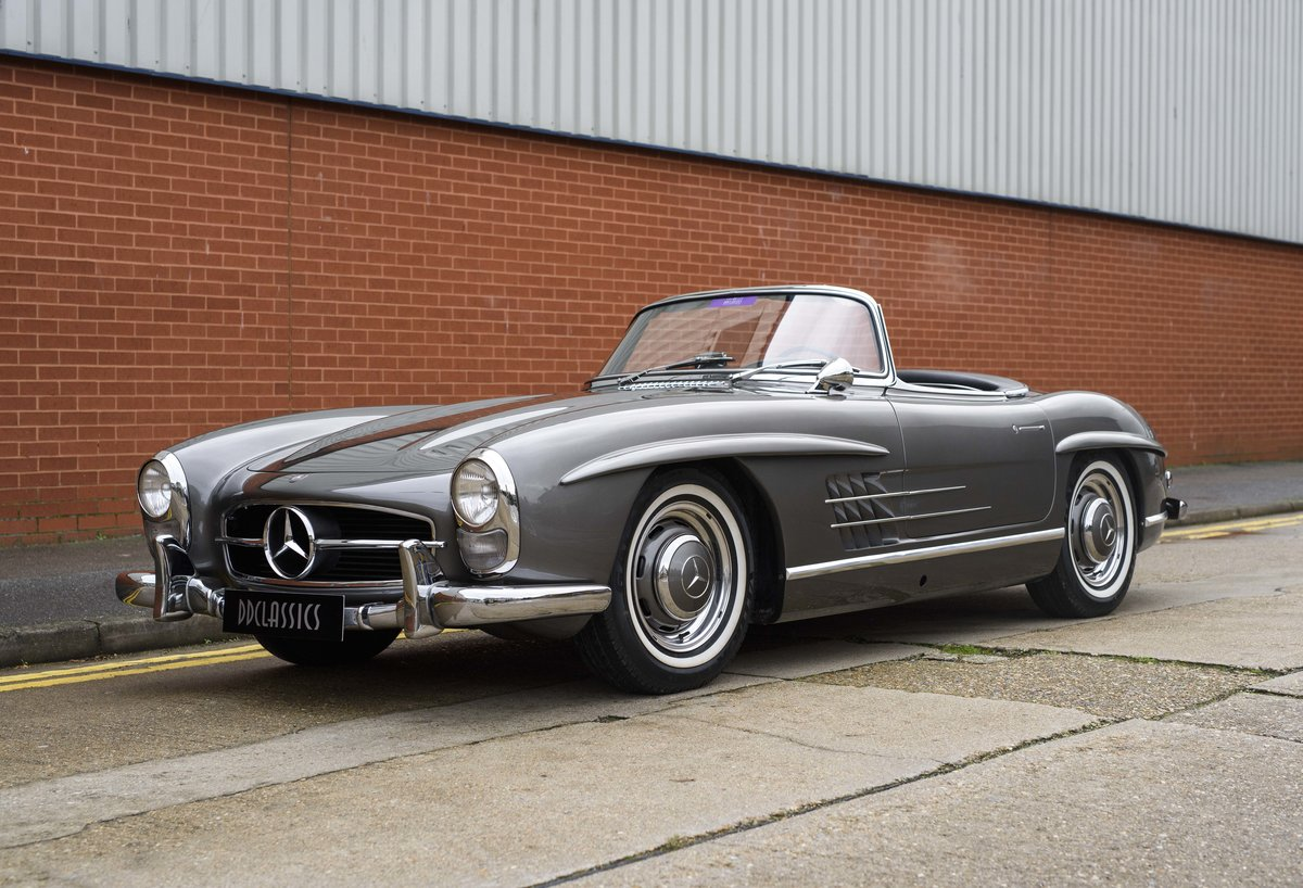 1958 Mercedes-Benz 300 SL Roadster For Sale In London ( LHD  For Sale (picture 1 of 20)