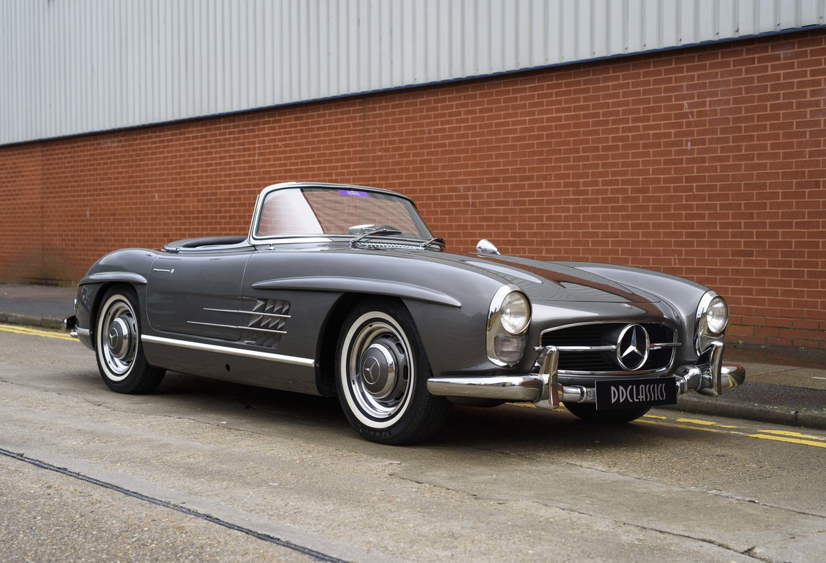 1958 Mercedes-Benz 300 SL Roadster For Sale In London ( LHD  For Sale (picture 2 of 20)