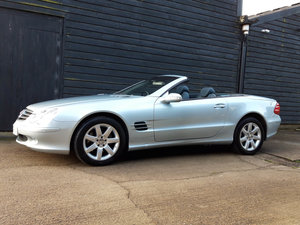 2002 MERCEDES BENZ R230 5.0 SL500 CONVERTIBLE - 33,000k 2 Owner  For Sale