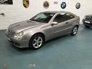 2004 Mercedes C class stunning example of this Luxury For Sale