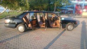 1991 Mercedes Benz w124 250 D 6 door lwb limousine For Sale
