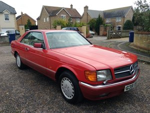 1989 Mercedes 500 SEC, W126, Coupe, Facelift For Sale