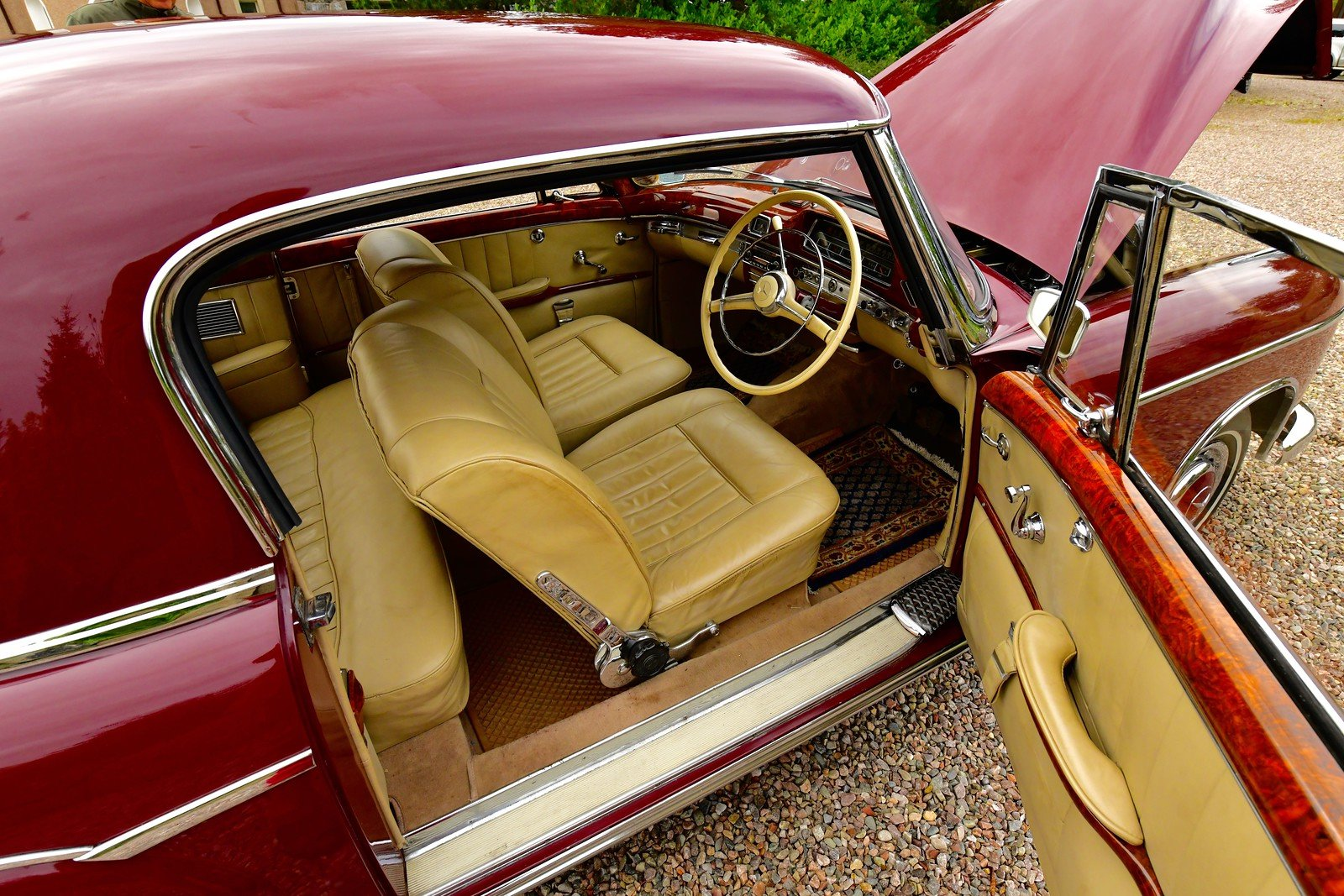 1958 Mercedes 220S Ponton Coupe  RHD For Sale (picture 4 of 6)
