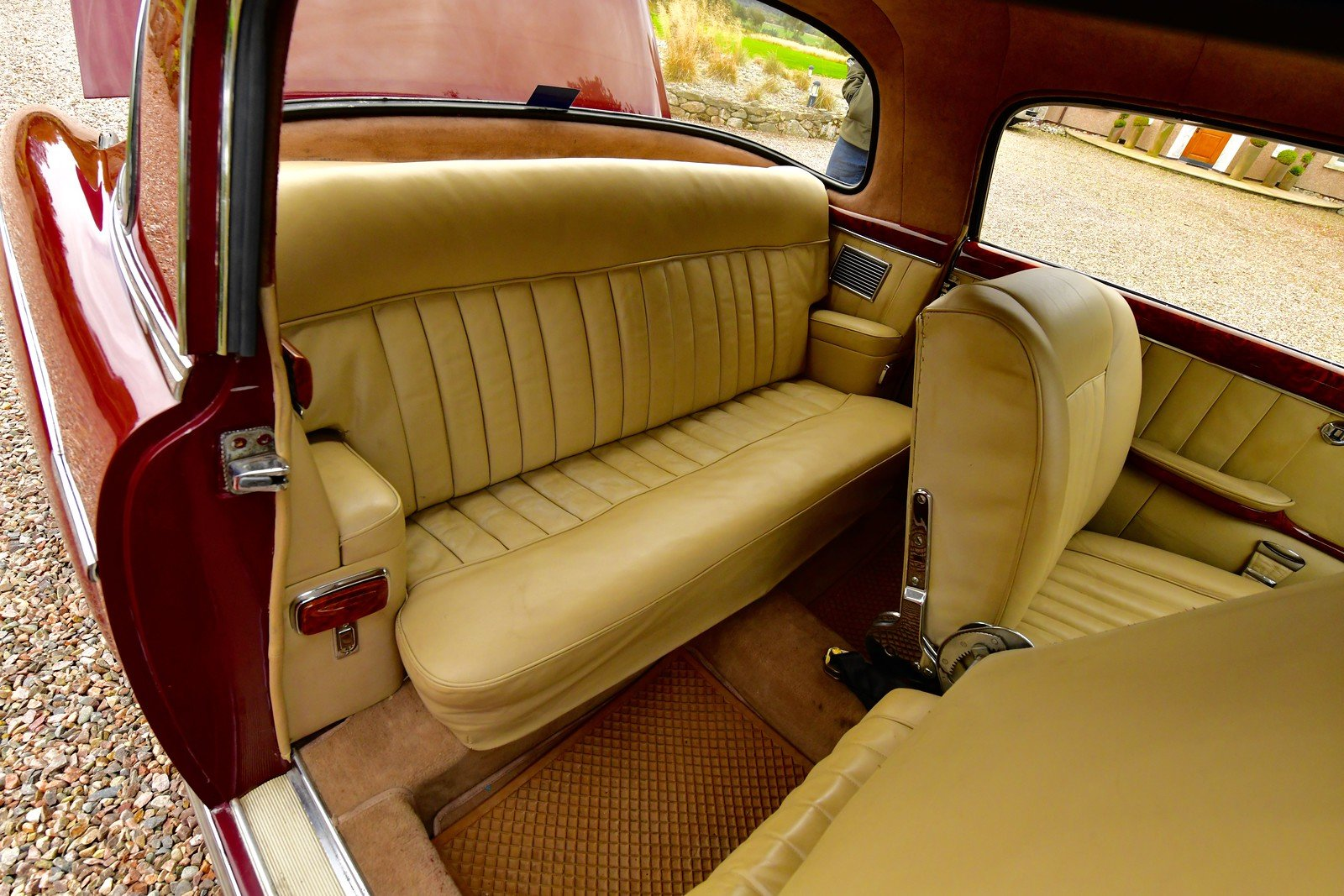 1958 Mercedes 220S Ponton Coupe  RHD For Sale (picture 5 of 6)