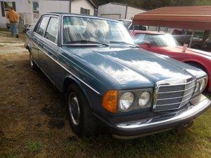 1977 Mercedes 240D Sedan Diesel Blue driver Auto $6.5k For Sale