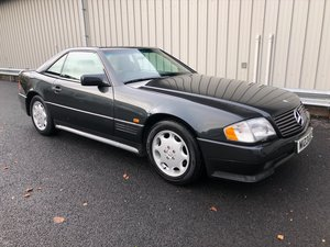 1995 MERCEDES-BENZ SL 3.2 SL320 AUTO WITH FACTORY AMG KIT For Sale