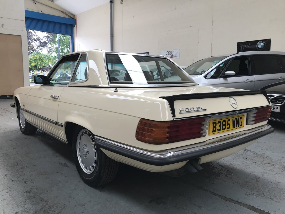1985 Mercedes Benz 500 5.0 SL For Sale (picture 3 of 6)