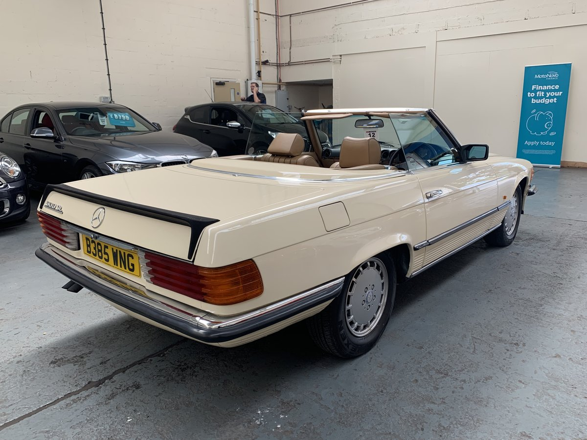 1985 Mercedes Benz 500 5.0 SL For Sale (picture 4 of 6)