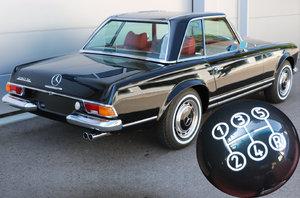 1968 MERCEDES-BENZ 280SL PAGODA W113+2019 ZF 5SPEED ZF S5-20 For Sale