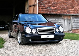 1998 Mercedes W210 E55 AMG saloon