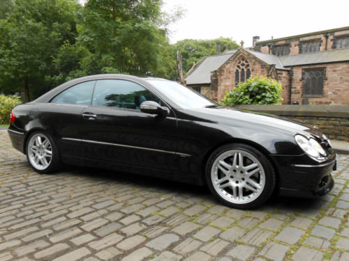 2003 Brabus B11 Mercedes Benz W209 CLK 500 V8 For Sale (picture 1 of 6)