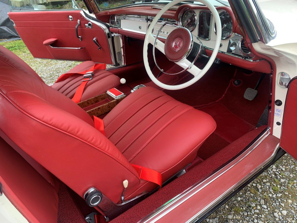 1964 Mercedes Benz 230SL Pagoda For Sale (picture 3 of 5)